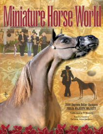 2009 Cover of Miniature Horse World